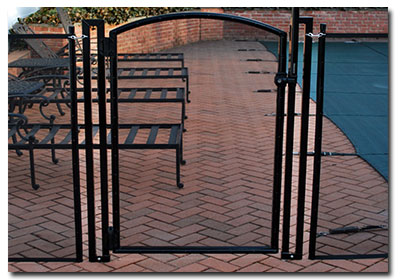 pool gates in New England