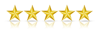five stars review rating