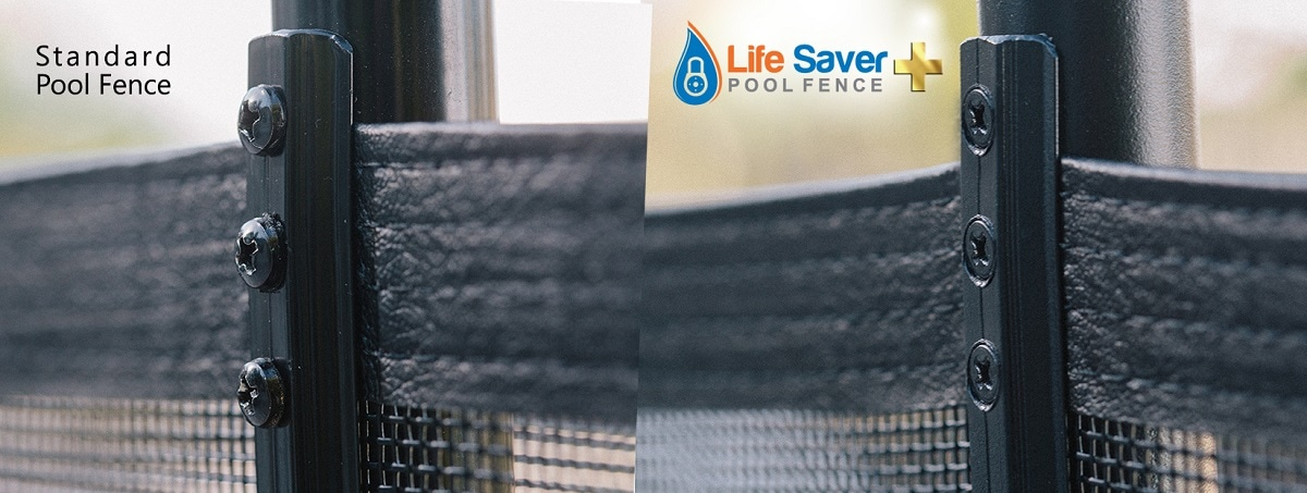 removable mesh pool fence installations in Massachussets and New England